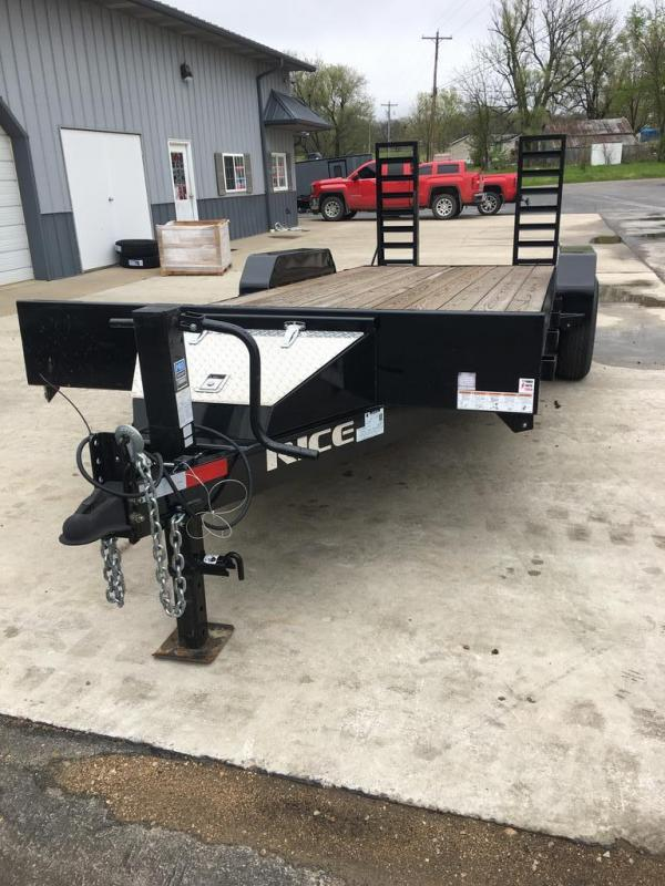 2020 Rice 82X20 RICE Flatbed Trailer