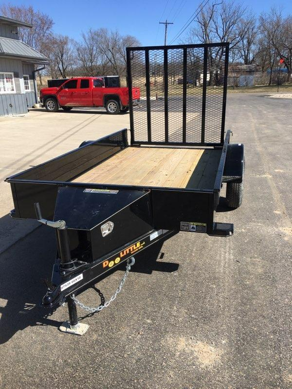 2020 Doolittle Trailer Mfg 60X10 DOOLITTLE Utility Trailer