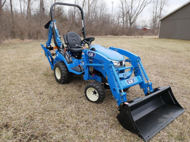 2019 LS Tractor LS MT125 Sub Compact Tractor W Loader and Backhoe