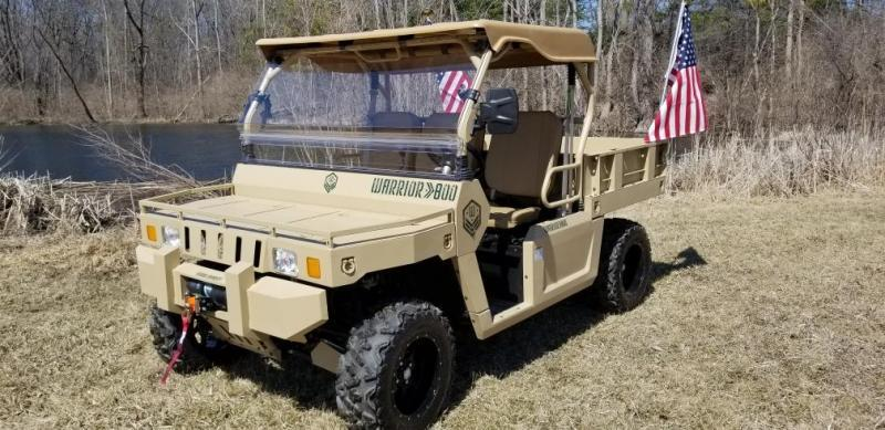 2019 Bennche Warrior 800 Utility Side-by-Side (UTV)