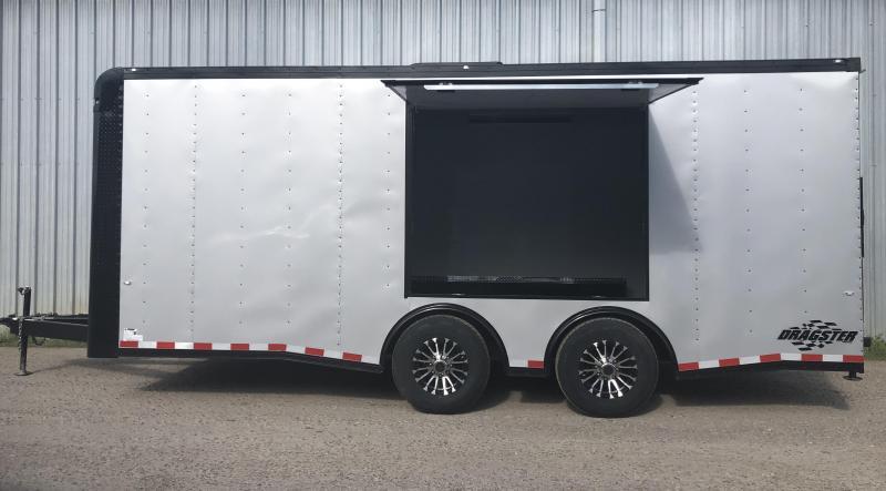 2019 Cargo Craft 8.5 x 20 12K Tandem Axle Enclosed Enclosed Cargo Trailer