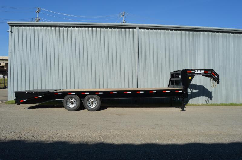 2020 Lamar Trailers Heavy Duty Deck-Over (FS) 14K Flatbed Trailer
