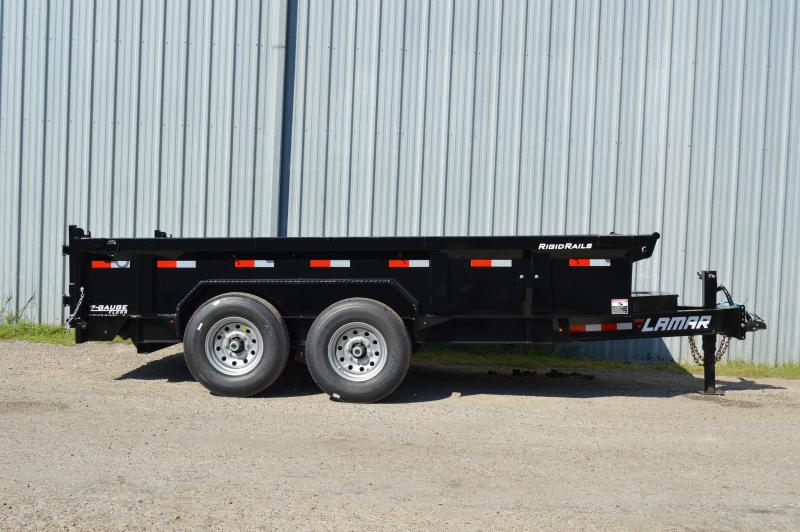 2018 Lamar Trailers Low-Pro Dump (DL) 14K Dump Trailer