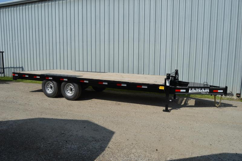 2020 Lamar Trailers Medium Deck-Over (F8) 14K Flatbed Trailer