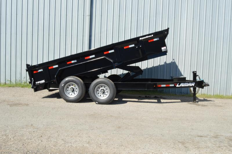 2019 Lamar Trailers Low-Pro Dump (DL) 14K Dump Trailer