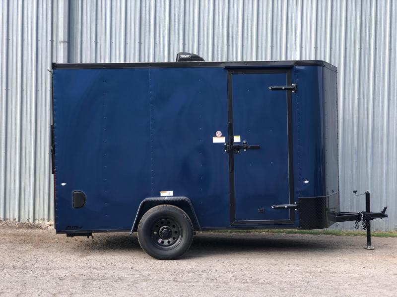 2019 Cargo Craft EV6121 Enclosed Cargo Trailer