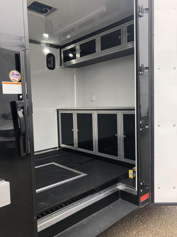 """2020 Cargo Craft 8.5x28"""" Dragster Auto Carrier Enclosed Cargo Trailer"""