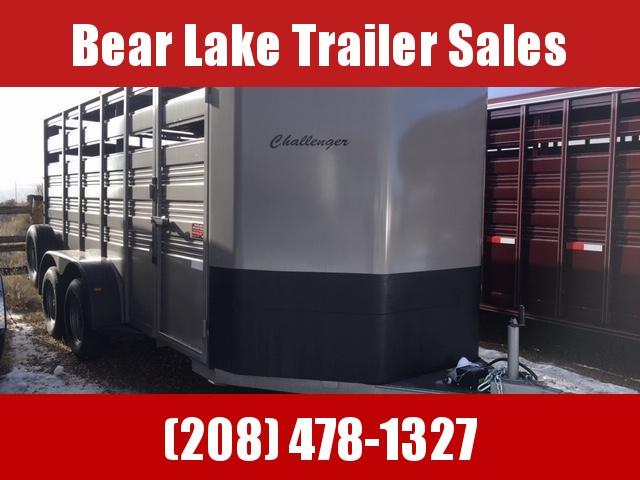 2020 Titan Trailers 16' Bumper Pull Challenger Livestock Trailer
