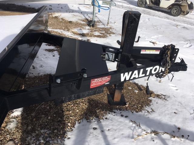 2020 Walton Trailers 6 + 16 Tilt Deck Trailer