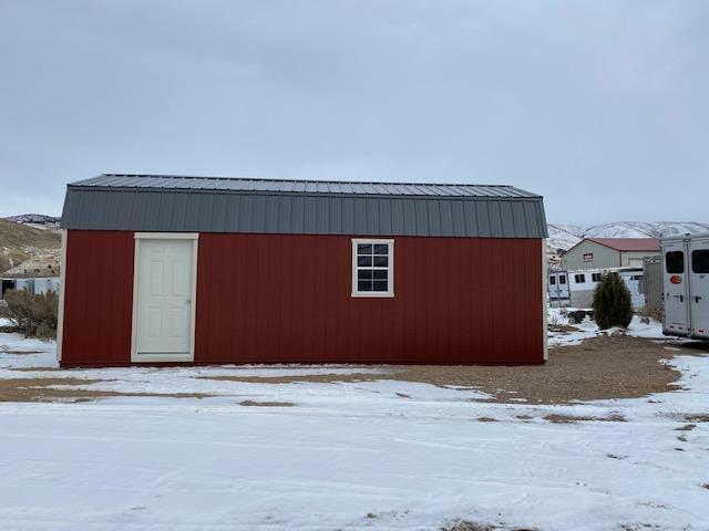 2019 Hi-Side Garage Utility Shed by MSC
