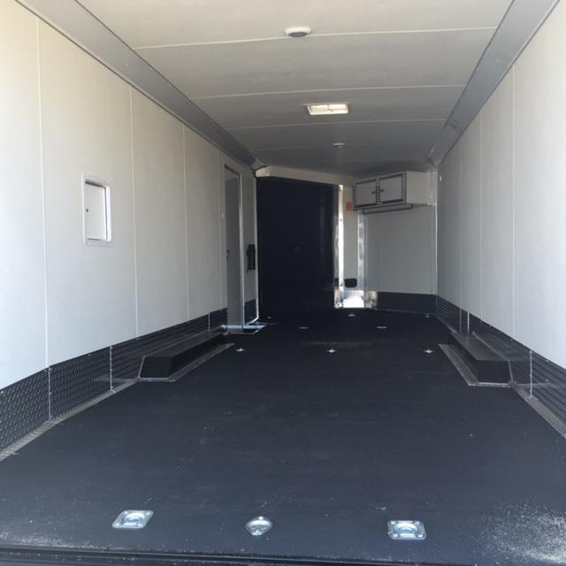 2020 Cargo Express PSVF85x29 sled trailer Snowmobile Trailer