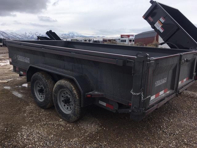 2020 Titan Trailers Smooth Sided Dump Dump Trailer