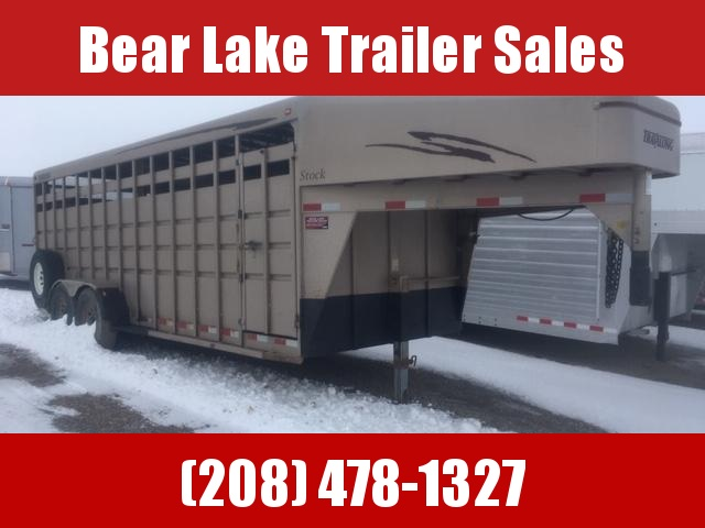 2007 Travalong 20 Stock Trailer
