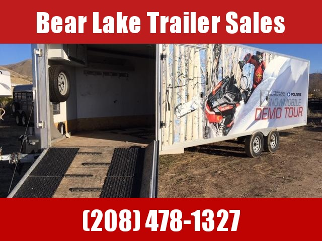 2016 Mission 4 place snow machine Snowmobile Trailer