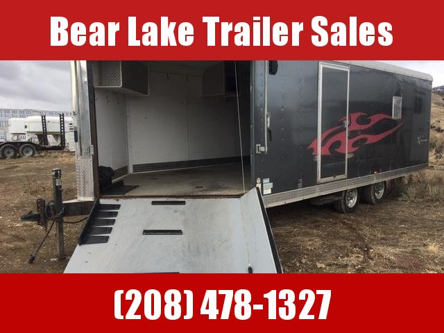 2008 Mirage Trailers 4 place snow machine trailer Snowmobile Trailer