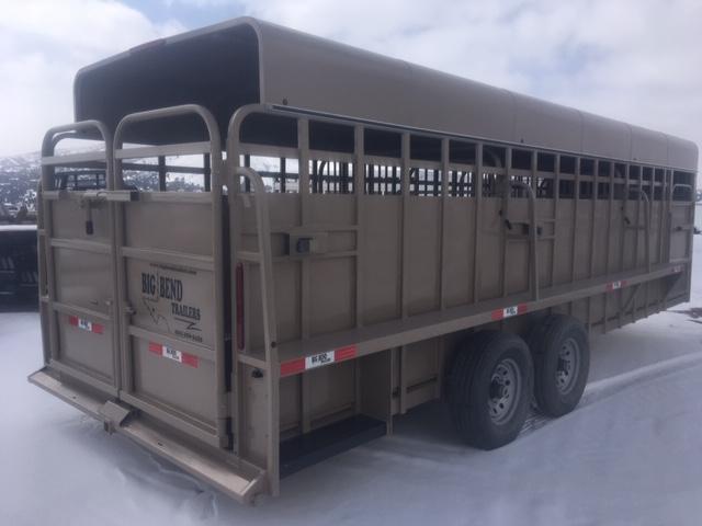 2019 Big Bend 24' Livestock Trailer