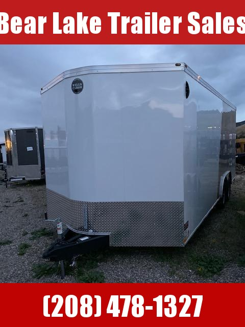 2020 Wells Cargo Road Force RF8520 Enclosed Cargo Trailer