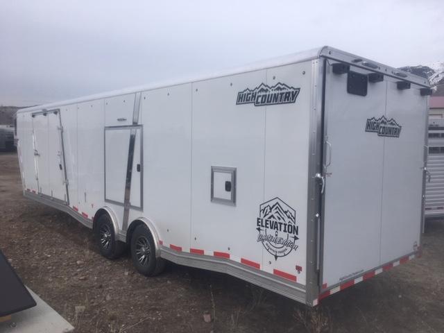 2019 High Country Gooseneck Snowmobile Trailer