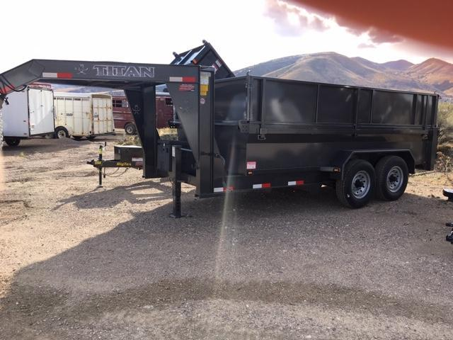 2019 Titan Trailers Gooseneck Dump trailer Dump Trailer