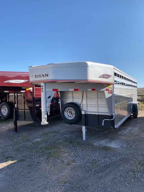 2019 Titan Classic 24' Livestock Trailer