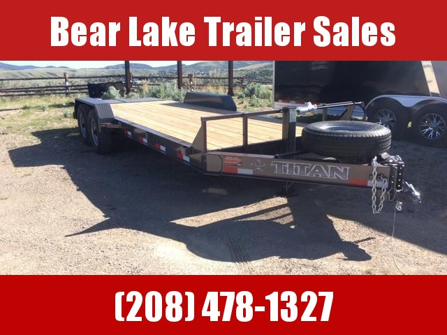 2020 Titan Trailers 18+3 Lo Glide Equipment trailer Utility Trailer