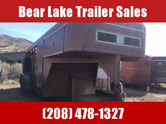 1983 Charmac Trailers 18' Stock Combo Livestock Trailer