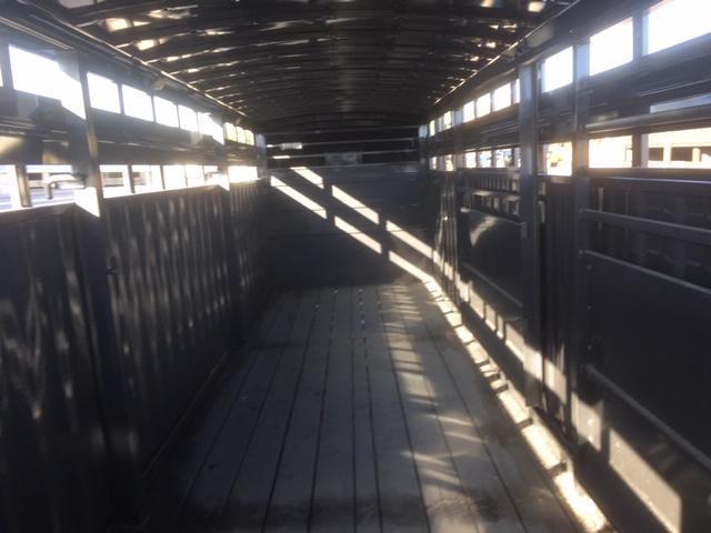 2019 Titan Trailers 24 Rancher Stock Livestock Trailer
