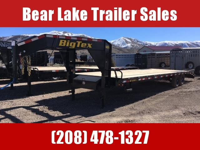 2020 Big Tex Trailers 14k GN Flatbed Trailer