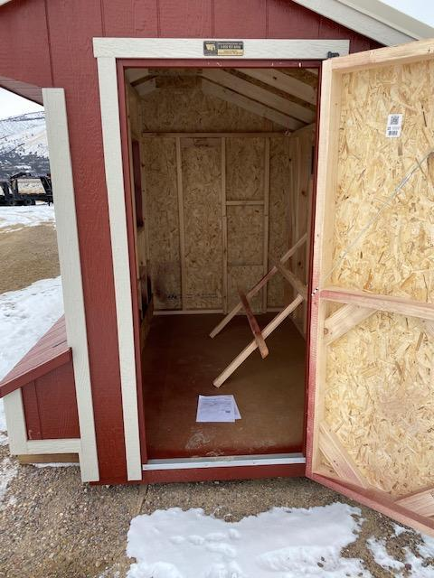 """2019 """"Quaker Chicken Coop"""" Utility Shed by MSC"""