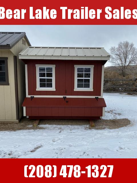 "2019 ""Quaker Chicken Coop"" Utility Shed by MSC"