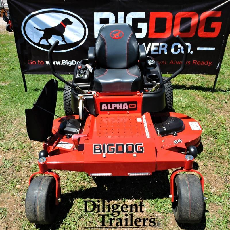 2019 Big Dog Mower Co Alpha MP 60