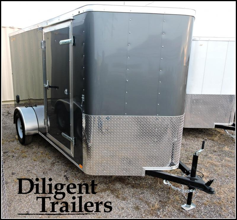 "2020 Doolittle Trailer Mfg 6' x12"" Single Axle 3.5K Enclosed Cargo Trailer"
