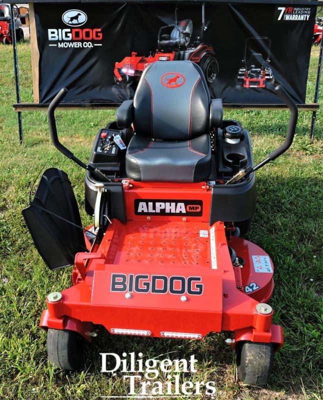 """2019 Big Dog Zero Turn Lawn Mower Alpha MP 42"""""""