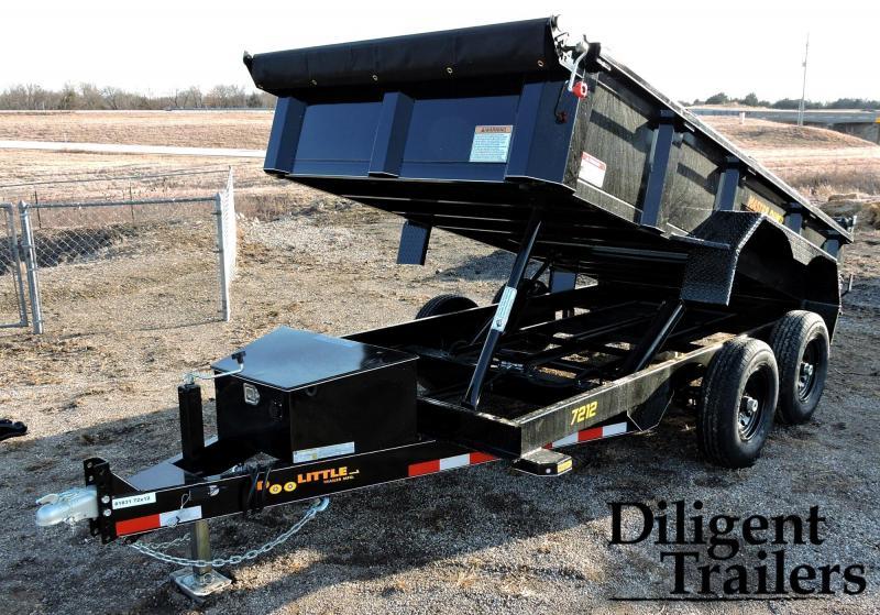 2019 Doolittle Trailer 6' x12' Tandem Axle 10K Master Dump Trailer
