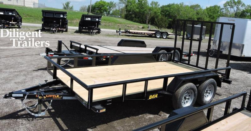 "2020 Doolittle Trailer Mfg 84"" x14' Tandem Axle 7K Utility Trailer"