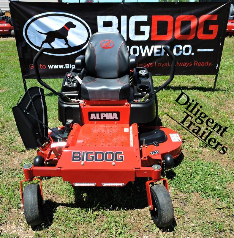 "2019 Big Dog Mower Co Alpha 52"""