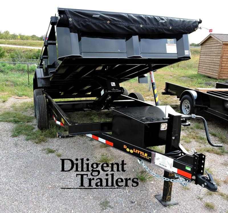 "2020 Doolittle Trailer Mfg 82"" x14' Tandem Axle 14K Dump Trailer"