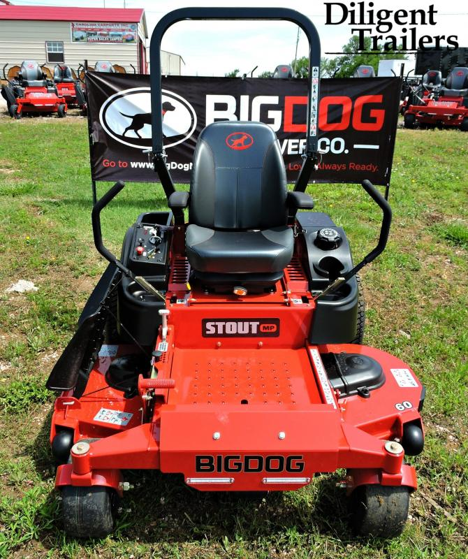 2019 Big Dog Zero Turn Lawn Mower Stout MP 60""