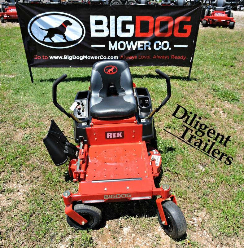 2019 Big Dog Zero Turn Lawn Mower Rex 34""