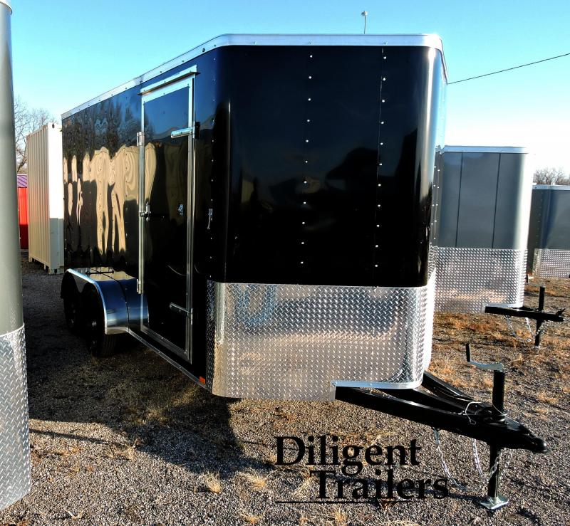 2020 Doolittle Trailer Mfg 7'x14' Tandem Axle 7K Enclosed Cargo Trailer