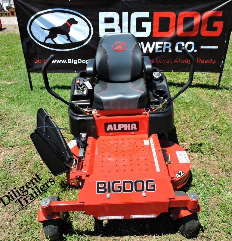 "2019 Big Dog Mower Co Alpha 42"""