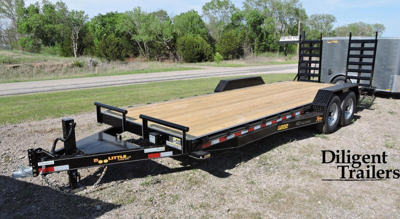 "2020 DOOLITTLE TRAILER 82""X22' XTREME 14K EQUIPMENT TRAILER"