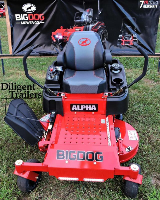 """2019 Big Dog Zero Turn Lawn Mower Alpha 42"""""""