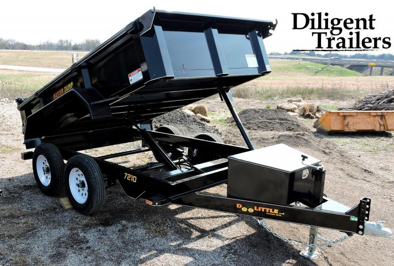 2019 Doolittle Trailer Masterdump 7200 Series 6 x 10 Tandem Axle 7K Dump Trailer