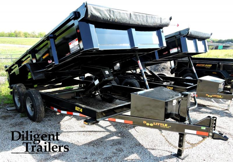 2019 Doolittle Trailer Masterdump 8200 Series 82 x 14 Tandem Axle 14K Dump Trailer