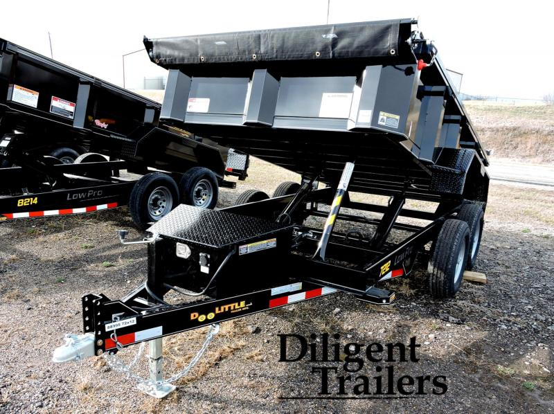 2020 Doolittle Trailer 6' x12' Tandem Axle 10K Master Dump Trailer