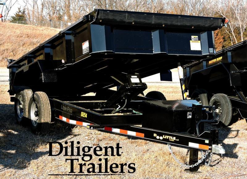 """2020 Doolittle Trailer Mfg 82""""x14' Tandem Axle 14K Dump Trailer"""