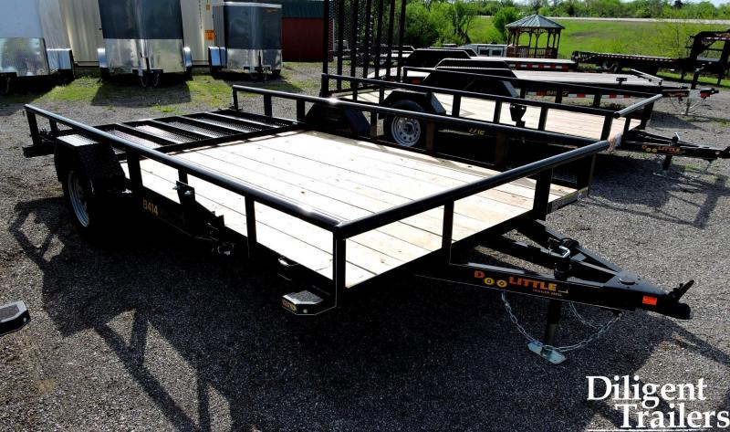 "2020 DOOLITTLE TRAILER 84"" X14' SINGLE AXLE 3.5K UTILITY TRAILER"