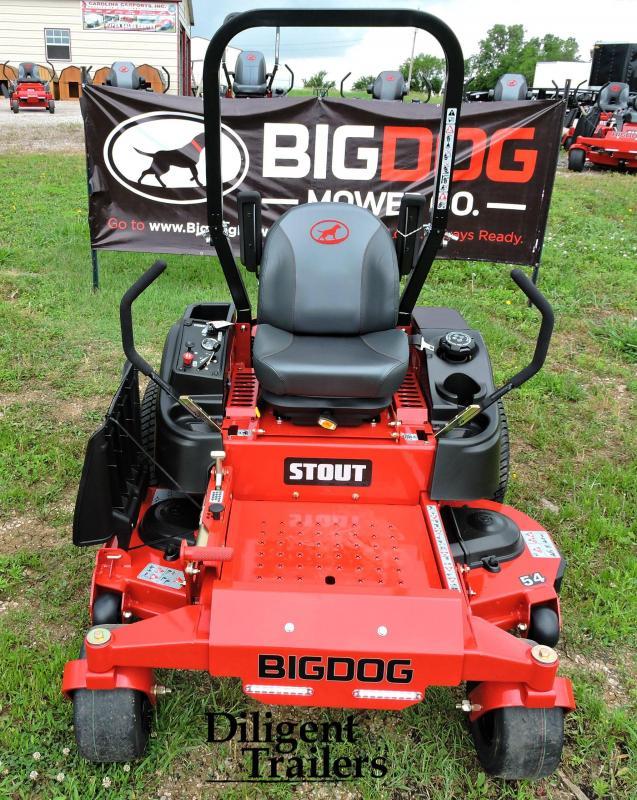 "2019 Big Dog Zero Turn Lawn Mower Stout 54"""