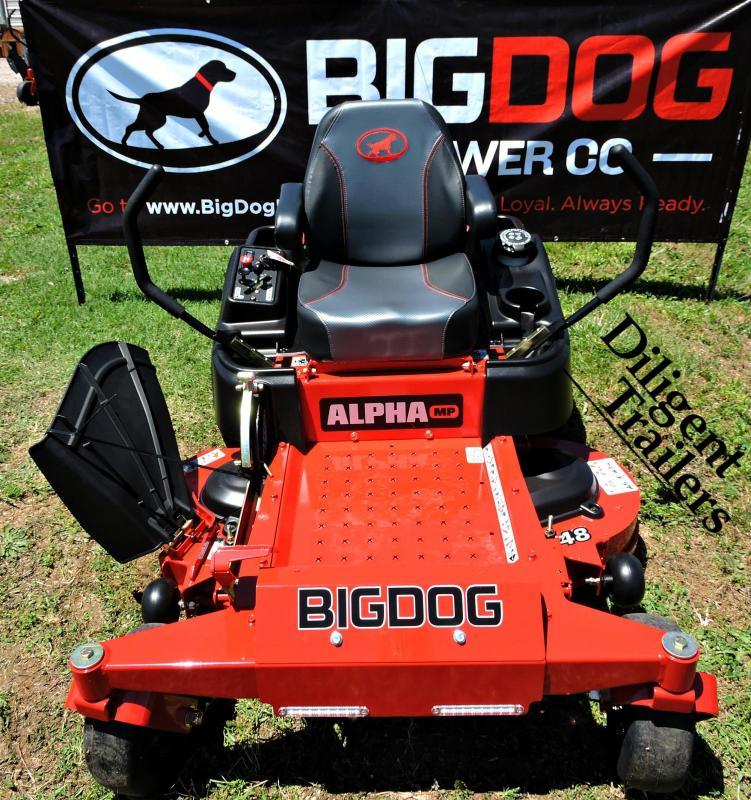 2019 Big Dog Mower Co Alpha 52